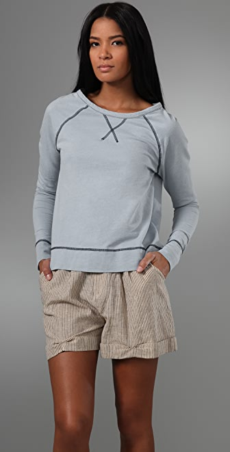 PJK Patterson J. Kincaid Luxie French Terry Pullover