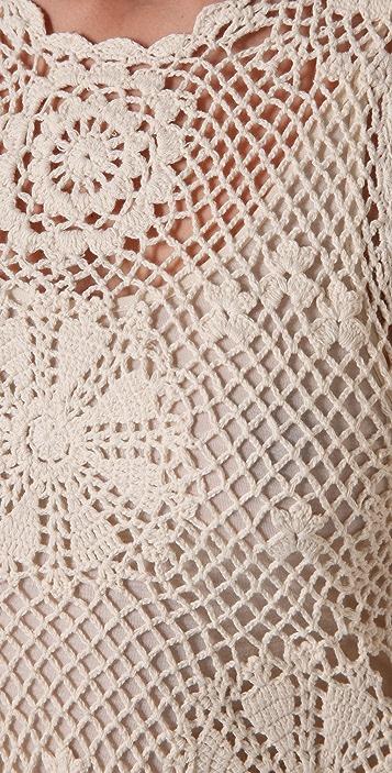 PJK Patterson J. Kincaid Crochet Hampton Dress