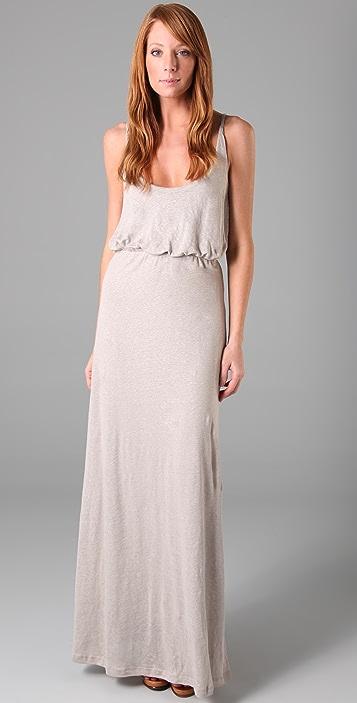 PJK Patterson J. Kincaid Celeste Linen Long Dress