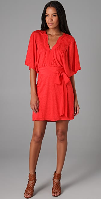 PJK Patterson J. Kincaid Linen Vanessa Tunic Dress
