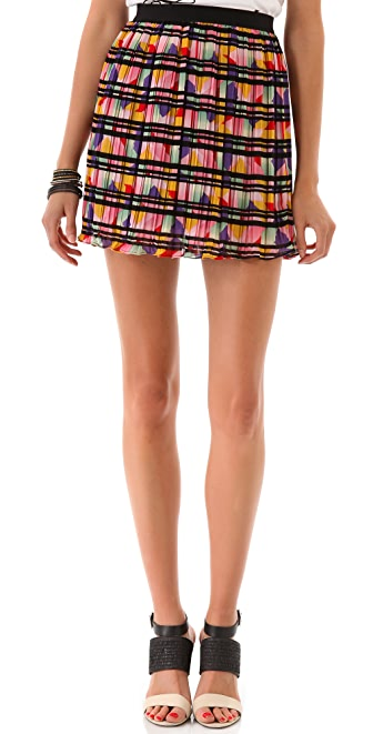 PJK Patterson J. Kincaid Color Prism Daffodil Skirt