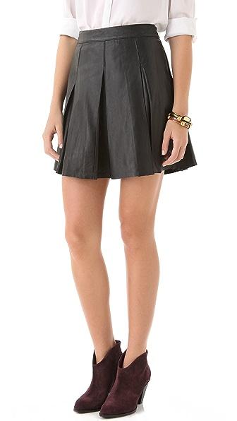 PJK Patterson J. Kincaid Tartan Miniskirt