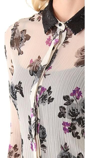 PJK Patterson J. Kincaid Jansen Floral Blouse