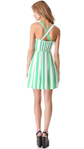 PJK Patterson J. Kincaid Augusta Tie Front Dress