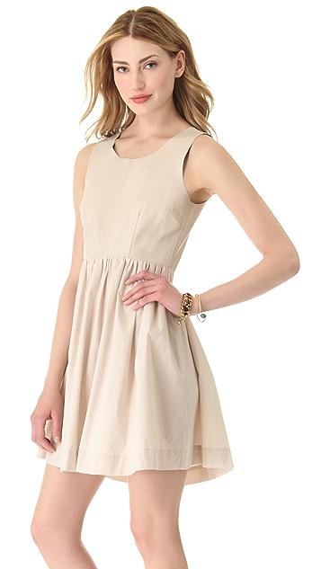 PJK Patterson J. Kincaid Bowlin Leather Dress