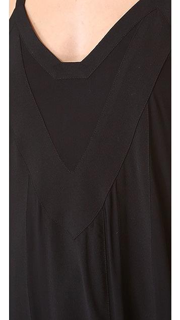 PJK Patterson J. Kincaid Manning Maxi Dress