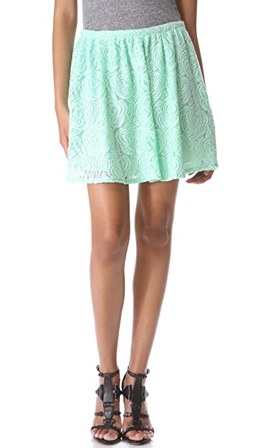 PJK Patterson J. Kincaid Raven Lace Skirt