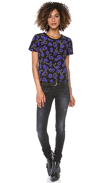 PJK Patterson J. Kincaid Bloom Quilted Tee