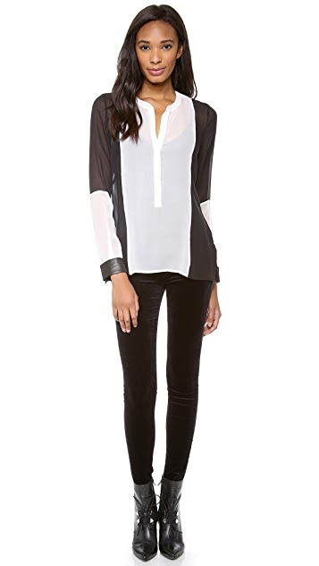 PJK Patterson J. Kincaid Madison Blouse