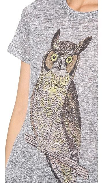 PJK Patterson J. Kincaid Classic Owl Crew Tee