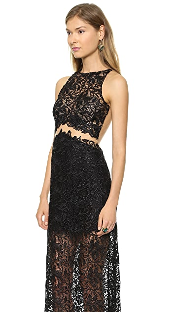 Patricia Bonaldi Long Lace Gown