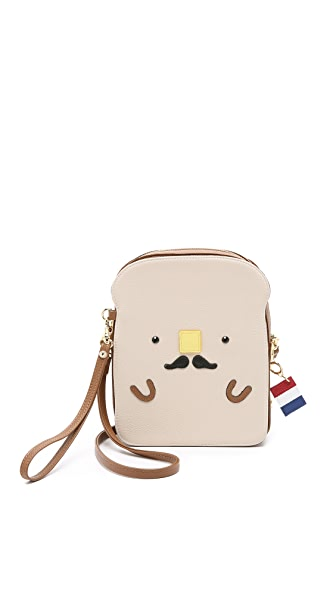 Patricia Chang French Toast Cross Body Bag