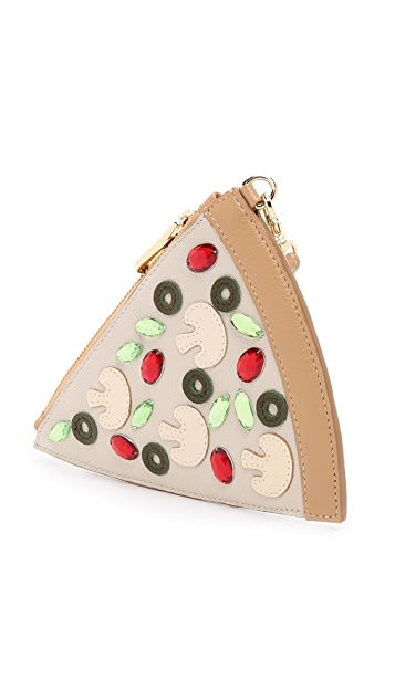 Patricia Chang Pizza Wristlet