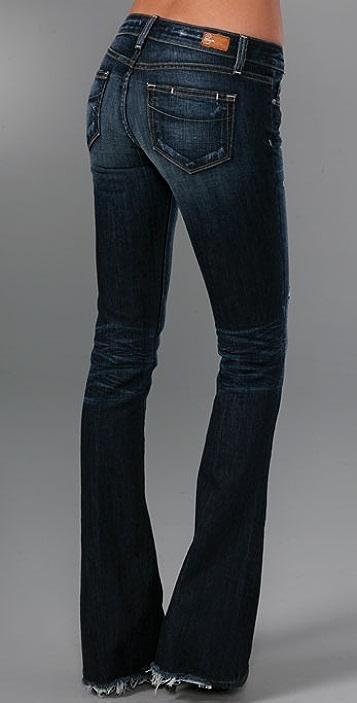 PAIGE Lou Lou Tulip Flare Jeans