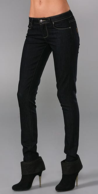 PAIGE Contrast Verdugo Denim Leggings