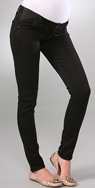 PAIGE Maternity Union Jeggings