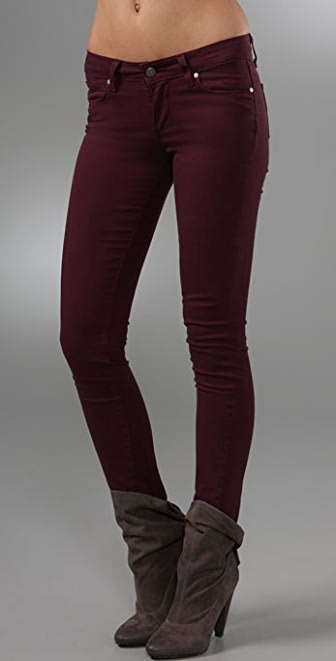PAIGE Lacquer Verdugo Jeggings