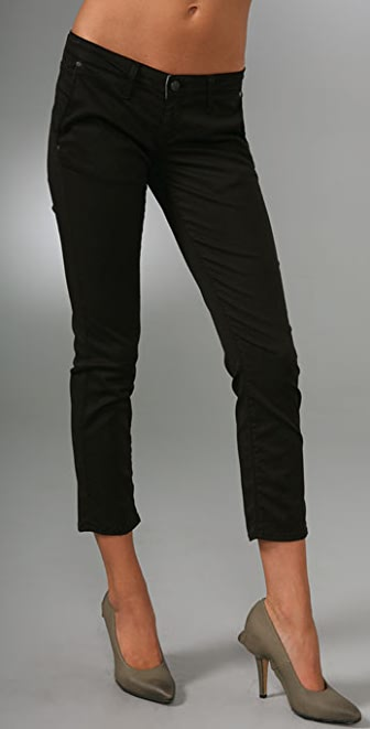 Paige Denim Kenya Cropped Trousers