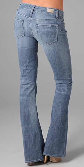 PAIGE Paseo Relaxed Flare Jeans