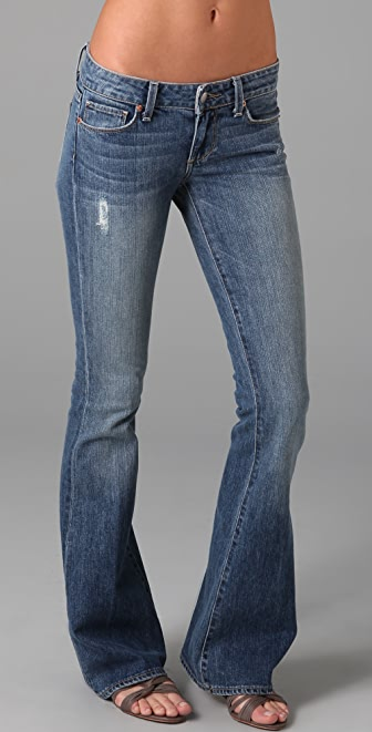 PAIGE Bell Canyon Skinny Flare Jeans | 15% off first app purchase ...