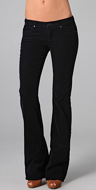PAIGE Bentley Corduroy Flare Pants