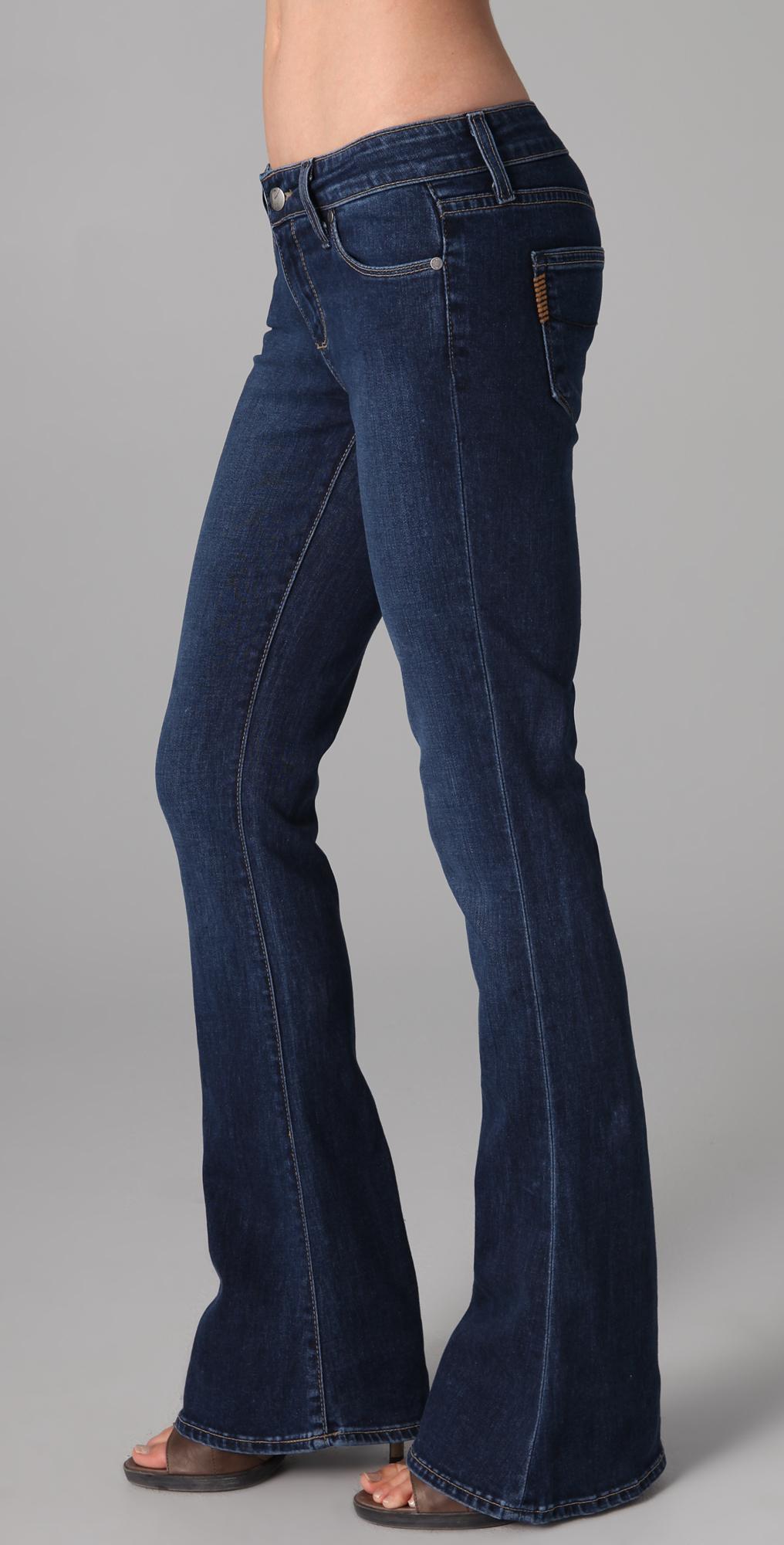 Paige Lou Lou Petite Flare Jeans Shopbop Save Up To 25 Use Code