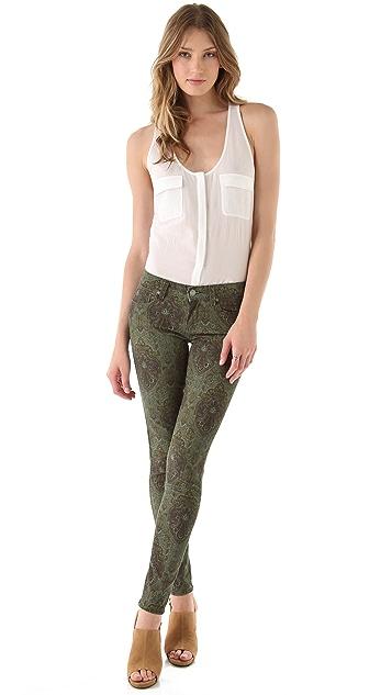 PAIGE Paisley Verdugo Ultra Skinny Jeans