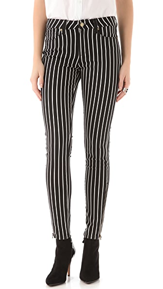 PAIGE Hoxton Striped Skinny Jeans | SHOPBOP Extra 25% Off Sale ...