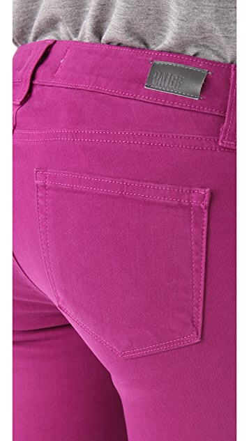 PAIGE Verdugo Ultra Skinny Colored Jeans