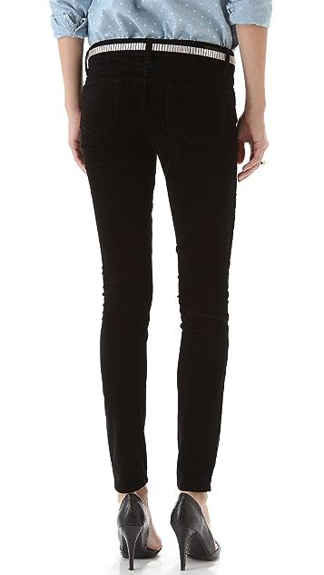 PAIGE Verdugo Ultra Skinny Velvet Pants