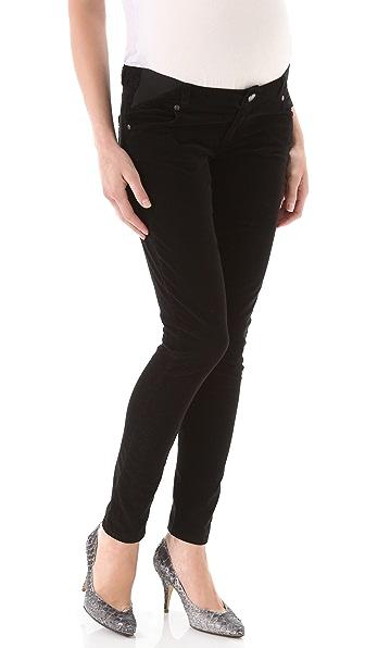 Paige Denim Maternity Verdugo Ultra Skinny Corduroy Pants