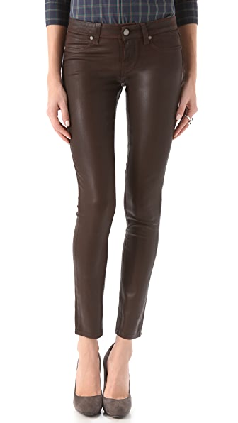 Paige Denim Verdugo Ultra Skinny Coated Jeans