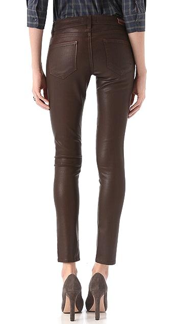 PAIGE Verdugo Ultra Skinny Coated Jeans
