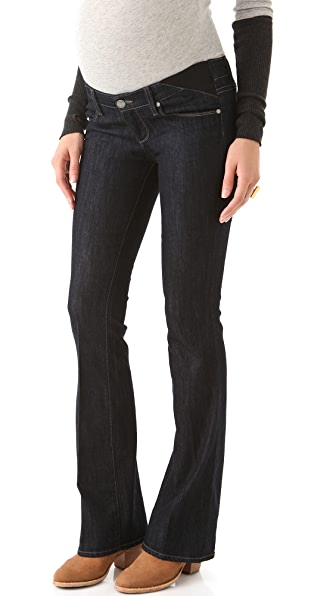 PAIGE Maternity Union Skyline Boot Cut Jeans