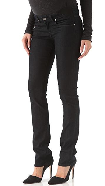 PAIGE Maternity Union Skyline Jeans