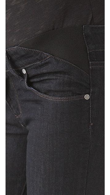 PAIGE Maternity Union Skyline Jeans