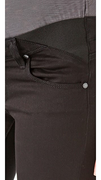 PAIGE Maternity Union Verdugo Skinny Jeans