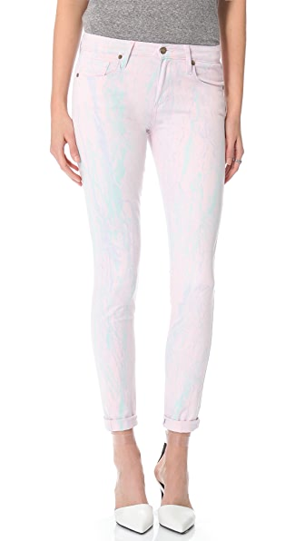 Paige Denim Watercolor Verdugo Ultra Skinny Jeans