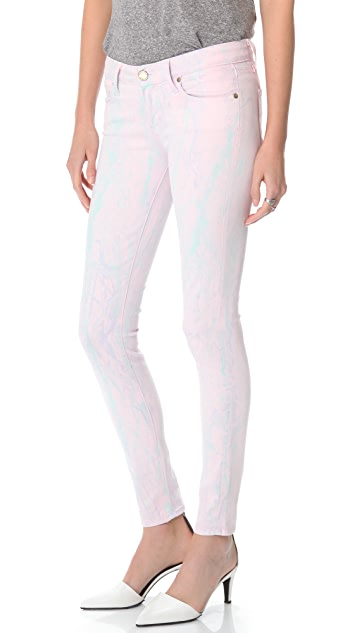 PAIGE Watercolor Verdugo Ultra Skinny Jeans