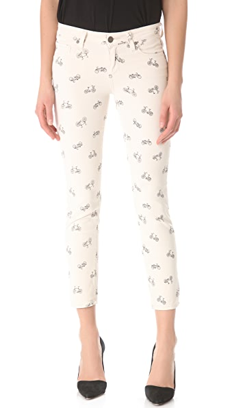 PAIGE Kylie Cropped Retro Cruiser Skinny Jeans