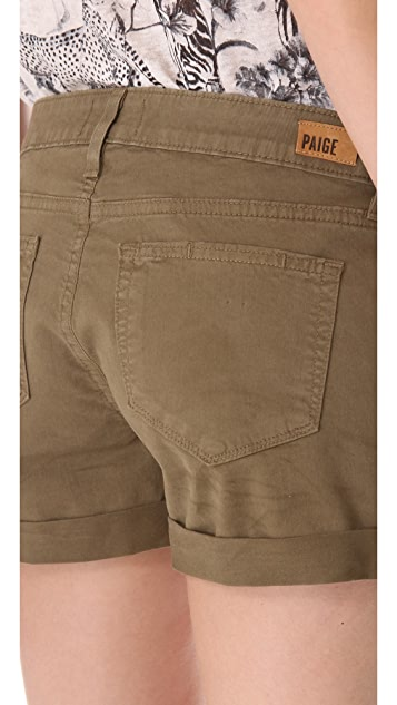 PAIGE Jimmy Jimmy Twill Shorts