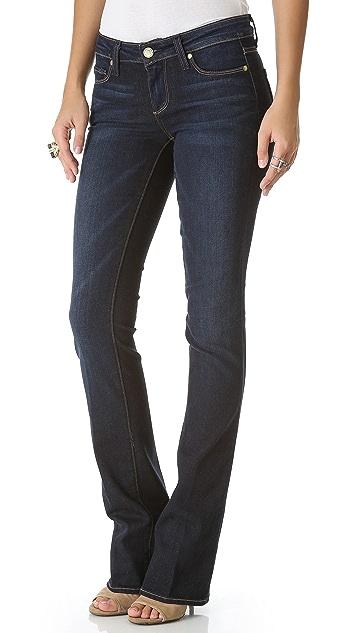 PAIGE Manhattan Boot Cut Jeans