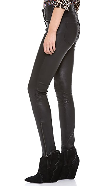 PAIGE Daphne Leather Pants
