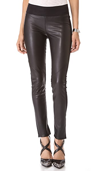 PAIGE Paloma Vegan Leather Leggings