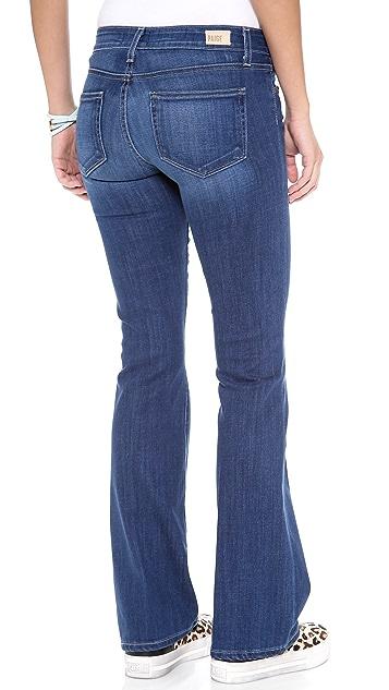 PAIGE Skyline Petite Flare Jeans