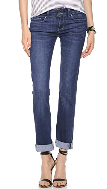 PAIGE Hidden Hills Straight Jeans