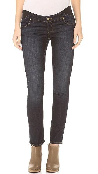 PAIGE Skyline Ankle Peg Maternity Jeans