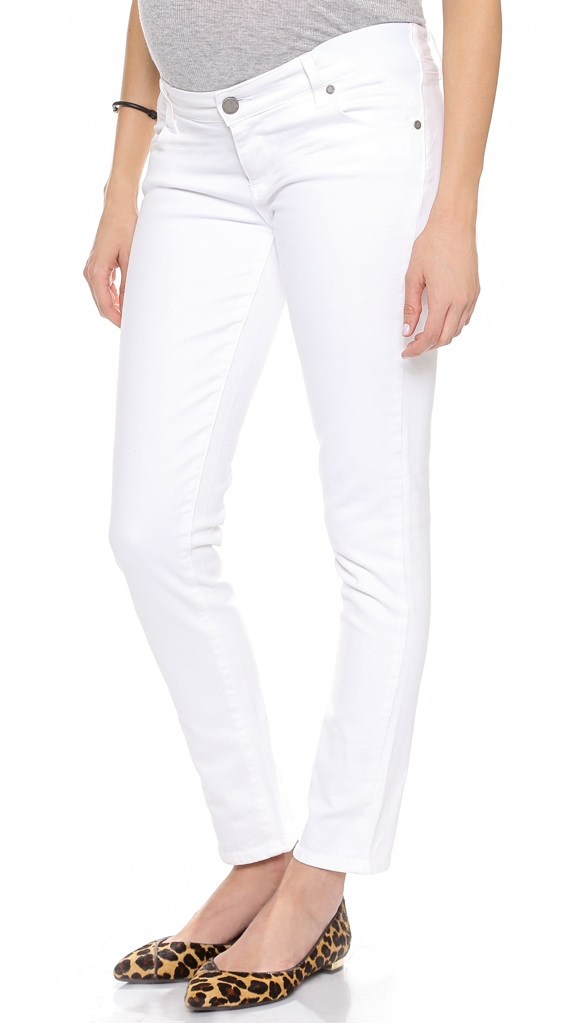 Skyline Ankle Peg Maternity Jeans