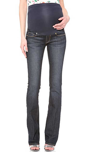 PAIGE Skyline Bootcut Panel Maternity Jean