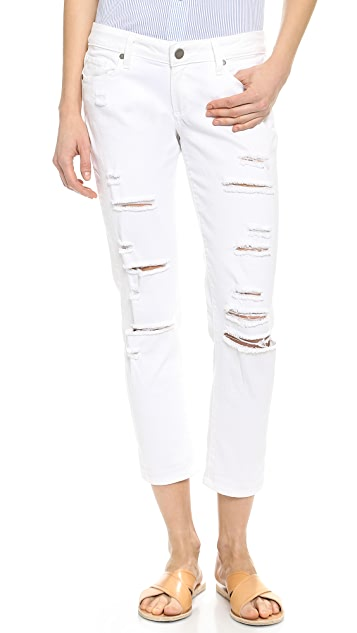 PAIGE Jimmy Jimmy Cropped Jeans